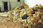 مصادرة 37 طن أعلاف فاسدة داخل مصنع في مركز قطور بالغربية