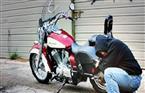 ضبط عصابة سرقة الدراجات البخارية ببولاق الدكرور
