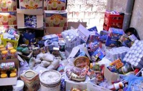 ضبط  مخالفة تموينية في حملة لضبط الأسواق قبل عيد الفطر بالشرقية