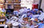 ضبط 1269 قضية تموينية ضمت 10 أطنان سلع غذائية و34980 قطعة مستلزمات طبية