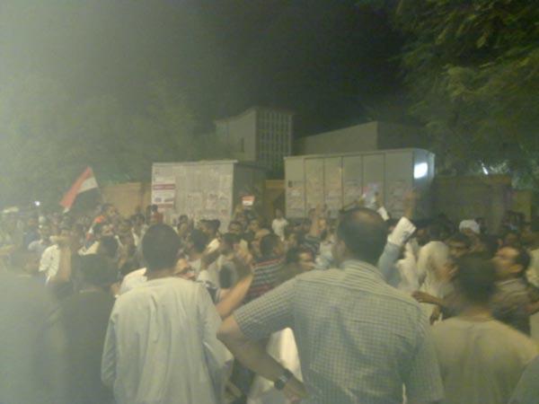 مسيرات للرئيس بمحافظة الأقصر