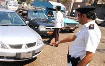 مرور البحر الأحمر يضبط سيارة مبلغ عن سرقتها بعين شمس عام 2013
