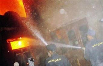 """""""سيجارة"""" تتسبب فى إصابة سيدة واحتراق عقار وتصدع آخر مكون من 11 طابقًا بالإسكندرية"""