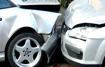 """شلل مروري بطريق """"القاهرة- الإسكندرية الزراعي"""" بسبب تصادم سيارتي نقل"""