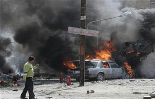 إصابة شخصين إثر انفجار عبوة ناسفة بالموصل وتدمير وكر لـ ;داعش; في بغداد