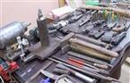 ضبط صاحب ورشة حدادة يقوم بتصنيع الأسلحة النارية في مطروح
