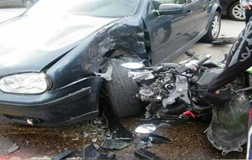 إصابة شخص في حادث مروري على الطريق الدائري -