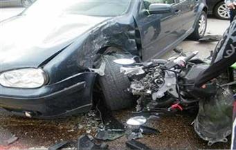 مصرع شخص وإصابة 6 آخرين في حادث مروري بالعياط