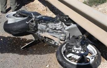 إصابة 3 أشخاص فى تصادم دراجتين بخاريتين بسوهاج