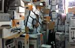 ضبط مليون و708 ألف قطعة أدوات كهربائية مغشوشة ومقلدة بمخزن بالمنصورة