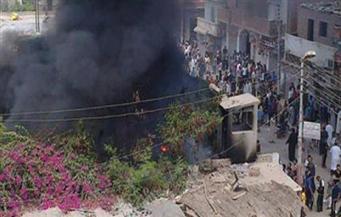اليوم.. الحكم على 391 متهمًا في قضية حرق مركز شرطة مطاي وقتل نائب المأمور