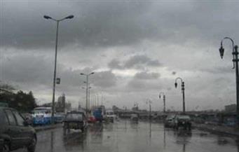أمطار غزيرة على شوارع القاهرة