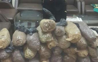 ضبط تاجر مخدرات بحوزته 33 كيلو بانجو وحشيش جنوب الأقصر