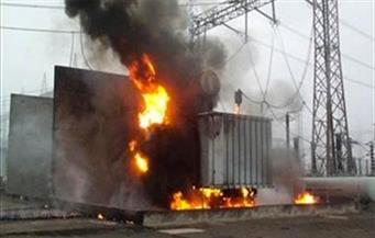 انفجار محول كهرباء بطوخ بسبب ارتفاع درجات الحرارة