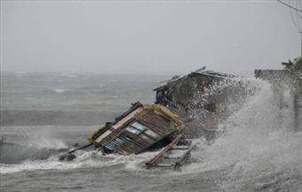 الإعصار كاموري يضرب الفليبين ويجبر السلطات على إغلاق مطار مانيلا