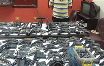 ضبط عامل حول مسكنه لورشة لتصنيع الأسلحة النارية بالفيوم