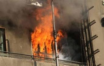 إصابة 5 أشخاص بحروق واختناق إثر نشوب حريق بمنزل بقرية الغنايمية بسيدي سالم