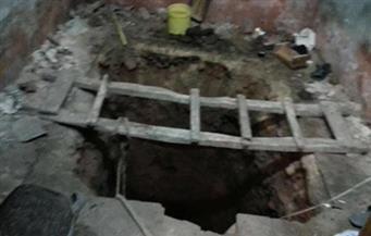 ضبط 6 أشخاص أثناء التنقيب عن الآثار في أحد المنازل بالفيوم