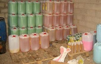 ضبط مصنع غير مرخص لإنتاج المنظفات والمطهرات بخامات مجهولة المصدر بالقاهرة