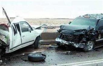إصابة 8 مواطنين فى انقلاب 3 سيارات بحوادث متفرقة بطريق (الغردقة -  رأس غارب)