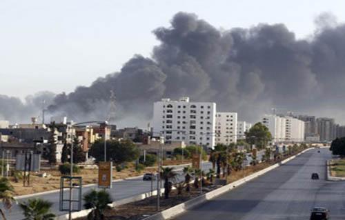 366918347 المشاهير | الأمم المتحدة تدين الغارات الجوية على مدينة مصراتة الليبية