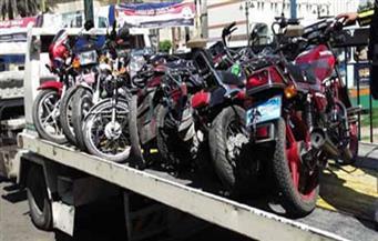 ضبط تشكيل عصابي متخصص فى سرقة الدراجات النارية بالغنايم