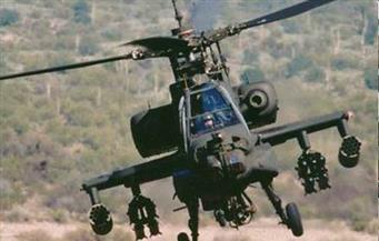 الأباتشي الأمريكية تقتل 3 أشخاص وتصيب 6 من قوات الحشد الشعبي بالأنبار