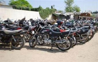 ضبط 2112 دراجة نارية مخالفة خلال أسبوع