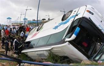 مصرع 15 وإصابة 25 آخرين في سقوط حافلة ركاب بواد شمال بيرو