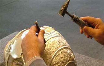 افتتاح معرض منتجات الحرف اليدوية فى حى السلام أول