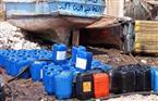 ضبط ألف لتر سولار و99 أسطوانة بوتاجاز مدعمة داخل مخزن غير مرخص بالإسكندرية