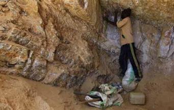 القبض على 5 عاطلين بتهمة التنقيب عن الذهب بمنطقة وادي عبادي بأسوان