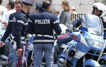مظاهرة احتجاج على إجلاء مبنى للاجئين في إيطاليا
