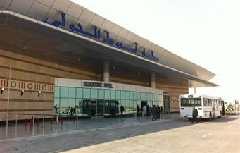 وصول شهداء كمين الغاز الأربعة إلى مطار أسيوط الدولي