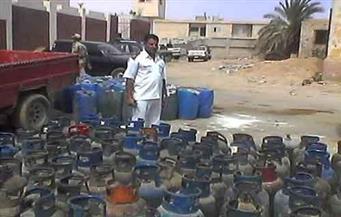 تحرير 132 قضية مواد بترولية وأسطوانات بوتاجاز خلال 4 أيام
