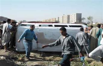 إصابة 8 أشخاص بينهم 7 من أسرة واحدة في انفجار إطار سيارة أجرة جنوب الأقصر