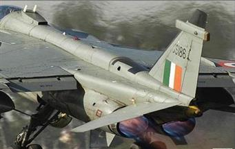 تحطم طائرة لسلاح الجو الهندي ونجاة قائدها