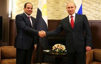 """شكري: زيارة """"بوتين"""" مصر لبحث التحديات بالمنطقة.. ونستفيد من الخبرة الروسية في تأمين المطارات"""