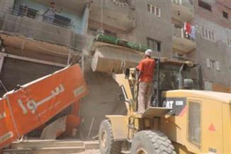 """إزالة 170 منزلًا من إجمالى 240 بـ""""تل العقارب"""" بالسيدة زينب تمهيدًا لتطويرها"""