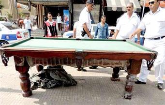 """حملة لإزالة التعديات على أملاك الدولة بمدينة """"سوزان"""" بحي منشأة ناصر"""