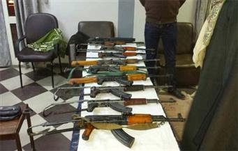 ضبط 26 بندقية آلية وخرطوش في حملة أمنية في 48 ساعة