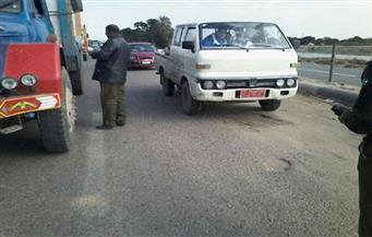 تحرير 1266 مخالفة مرورية حصيلة حملة بطرق وشوارع الغربية