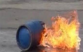 إصابة 3 أشخاص في انفجار أسطوانة بوتاجاز في السويس