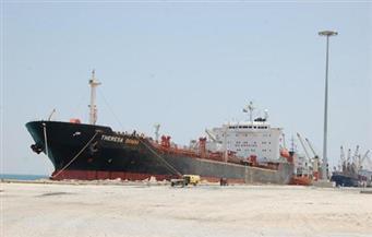 وصول 6500 طن بوتاجاز لميناء الزيتيات
