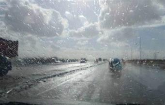 أمطار غزيرة على مدن وقرى كفرالشيخ تؤدي لغرق الشوارع والميادين وانقطاع الكهرباء