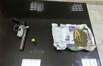 ضبط شخص للاتجار فى المخدرات وحيازة أسلحة وذخائر بدون ترخيص بالمنوفية