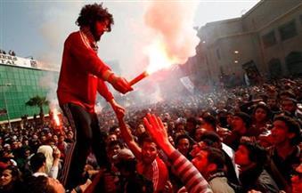 """حبس 8 من """"ألتراس أهلاوي"""" سنتين مع الشغل بتهمة التظاهر في ذكري مذبحة بورسعيد"""