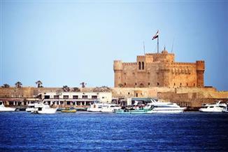 آثار الإسكندرية تعلن مد العمل بقلعة قايتباي خلال عيدالفطر وفصل الصيف