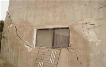 تصدع 8 منازل بسبب هبوط أرضي بأوسيم