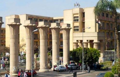 جامعة عين شمس تجمل حرمها الثاني -